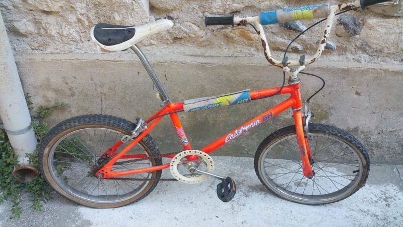 BMX BH California orange fluo ! Bh-bmx16