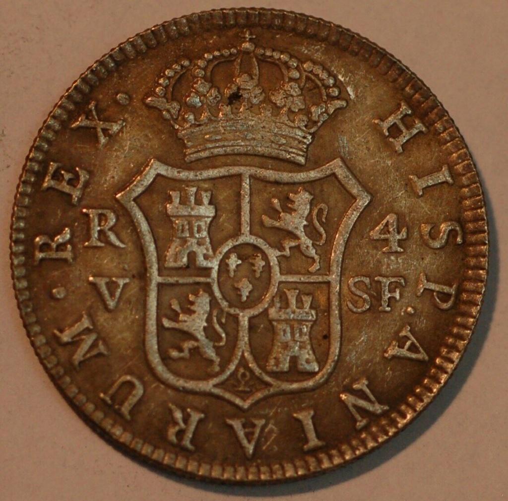 4 Reales Fernando VII 1814 Valencia 4_real10