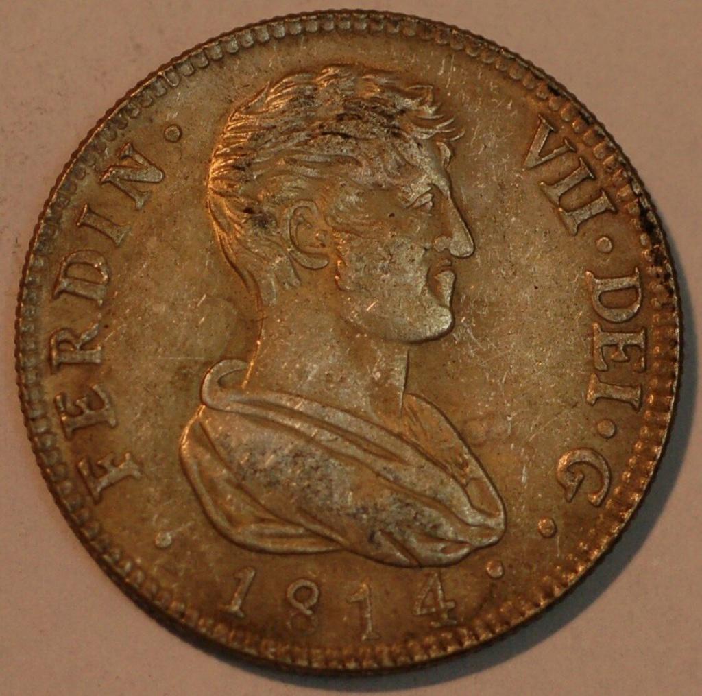 4 Reales Fernando VII 1814 Valencia 4_real11