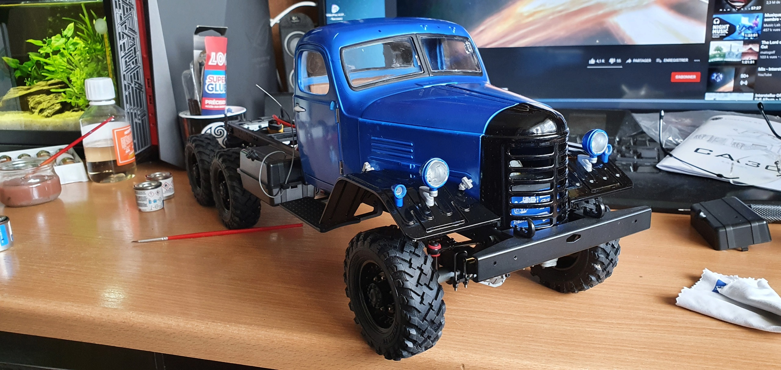 Camion King Kong 6x6 1/12 CA30 Tractor by Fab85 20210512