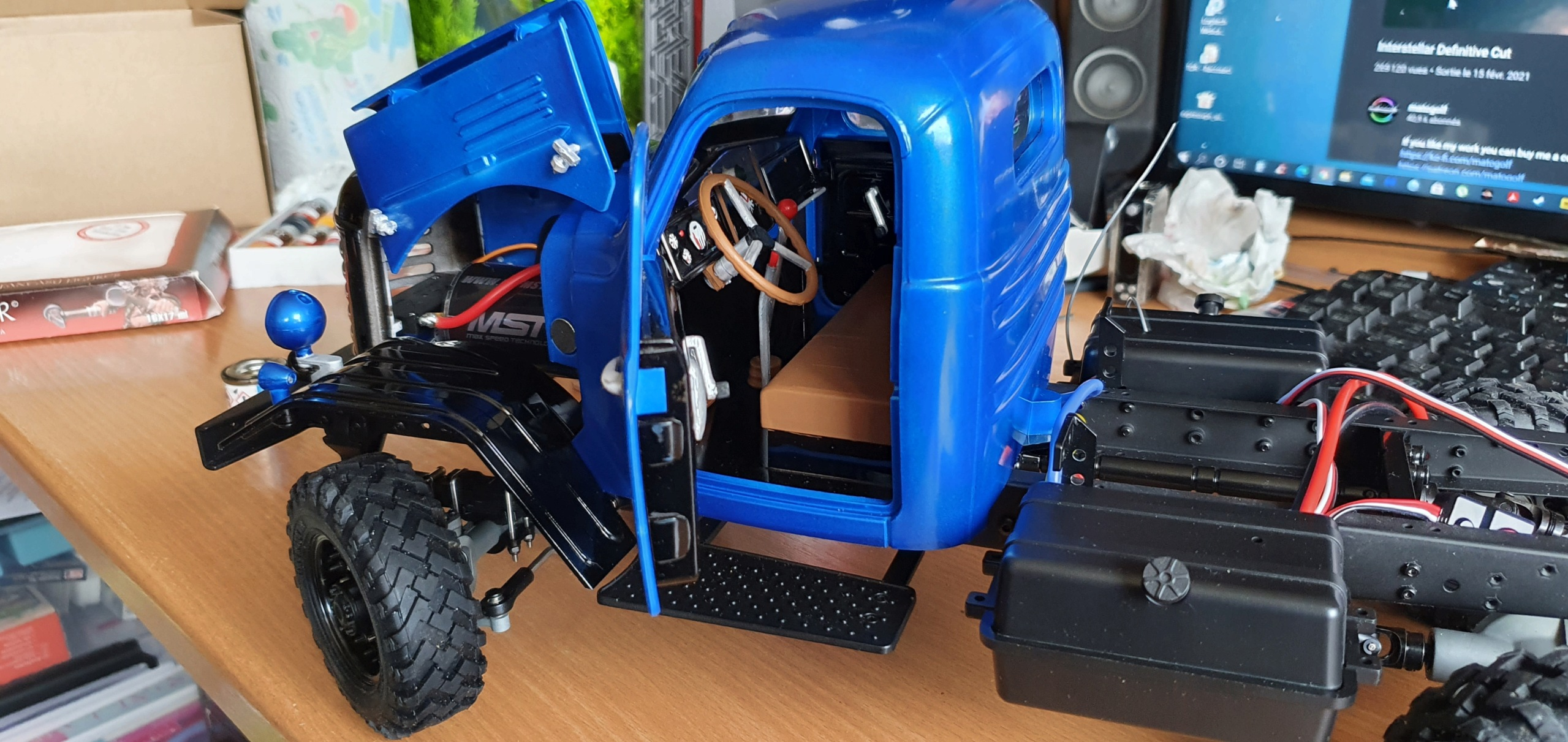 Camion King Kong 6x6 1/12 CA30 Tractor by Fab85 20210513