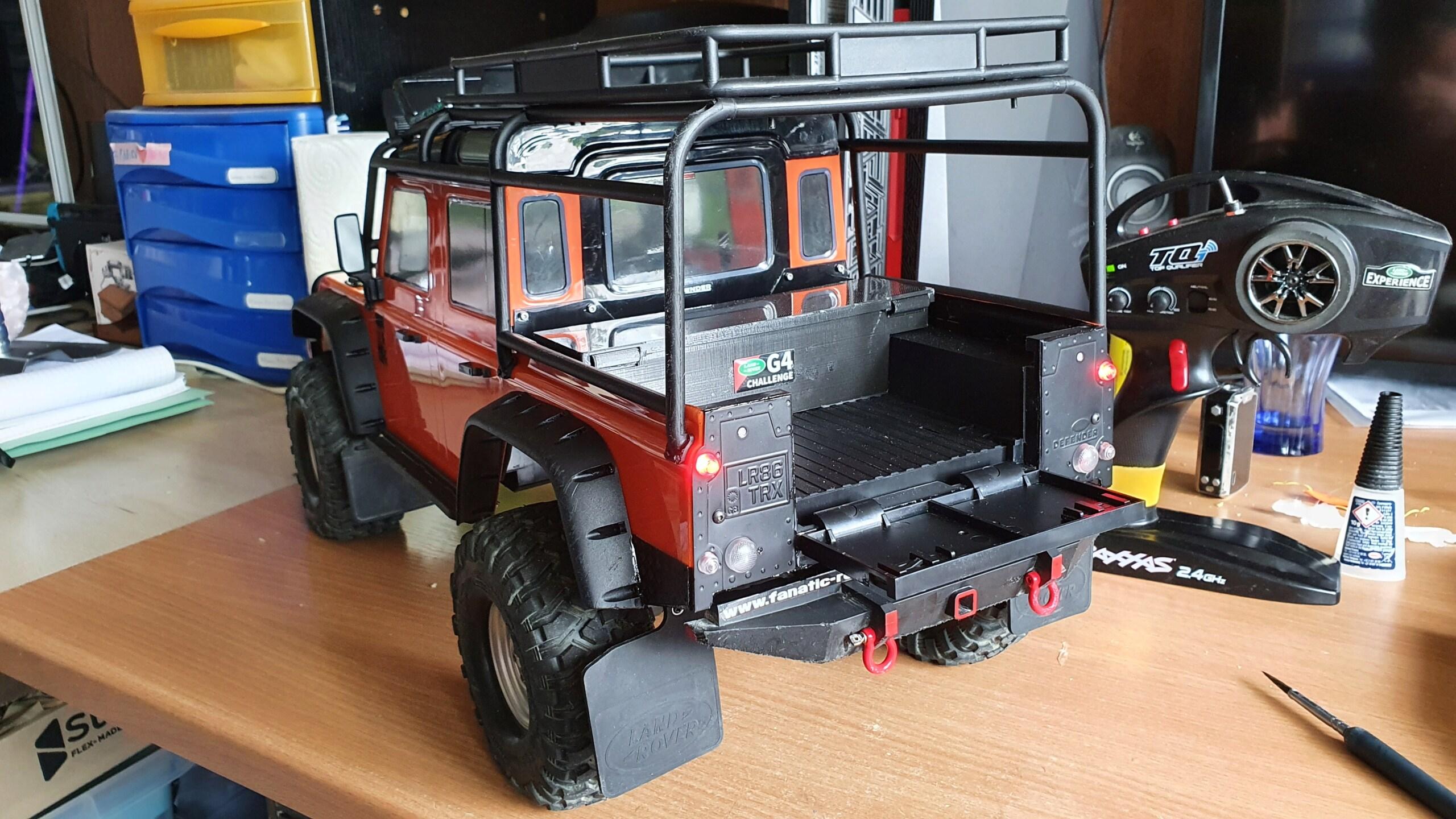Carrosserie TRX4 relookage terminé 218