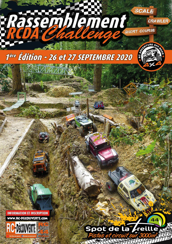 RCDA CHALLENGE AU SPOT DE LA TREILLE LE 26-27 SEPTEMBRE 2020 : 1ère édition Affich14