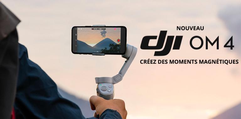 Test du Stabilisateur DJI OM4 pour smarphone Dji-om10