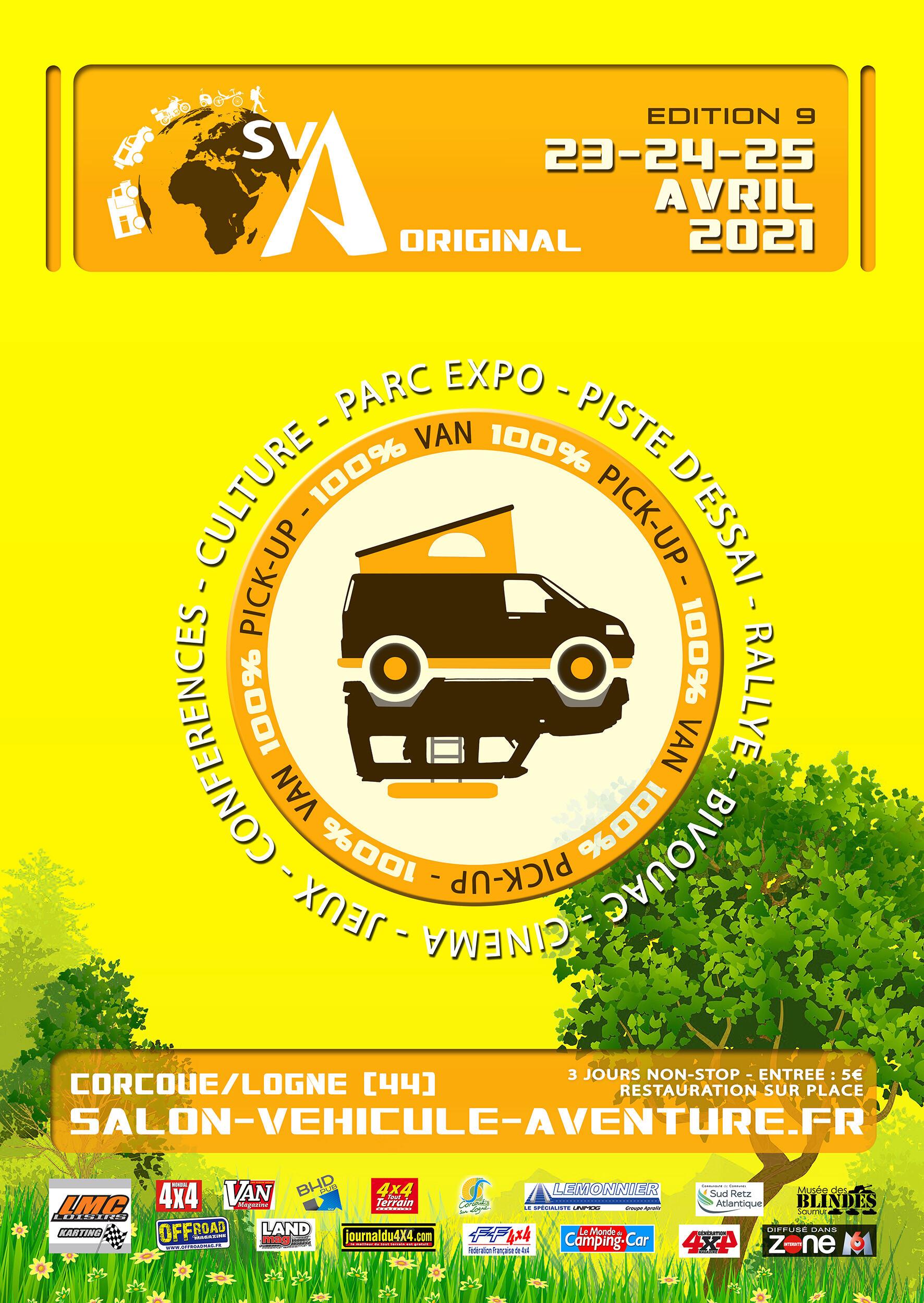 Salon du Véhicule d'Aventure SVA 2021 - Corcoué sur Logne (44) : du 11 au 13 juin - Page 2 Sva20210