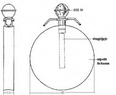 La grenade disque allemande Wassag 1945 110