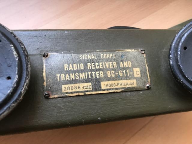 Un talkie-walkie US BC 611 Img_7213