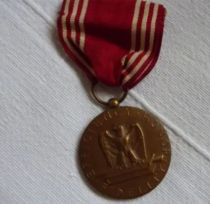 """Medal US Army """"for good conduct"""" Mzodai10"""