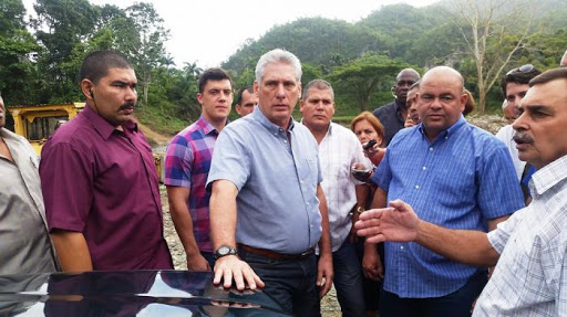 ¿Cuánto mide Miguel Díaz Canel? - Altura - Real height Unname22