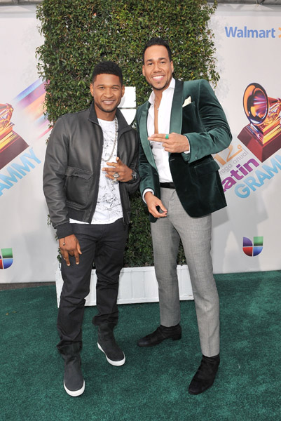 ¿Cuánto mide Romeo Santos? - Altura - Real height Usher-10