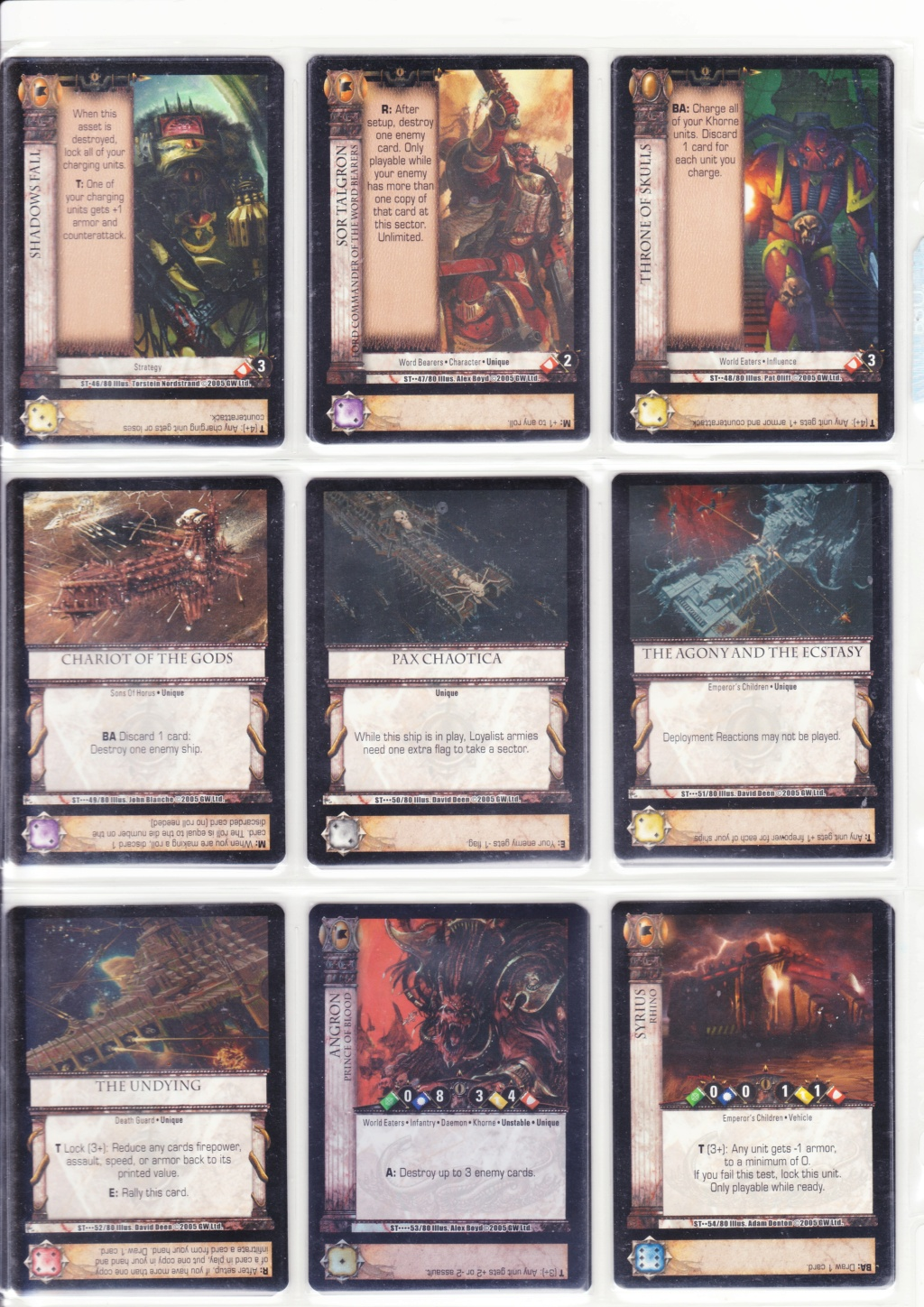 [JdC] Horus Heresy The card game - Page 2 Scn_0013