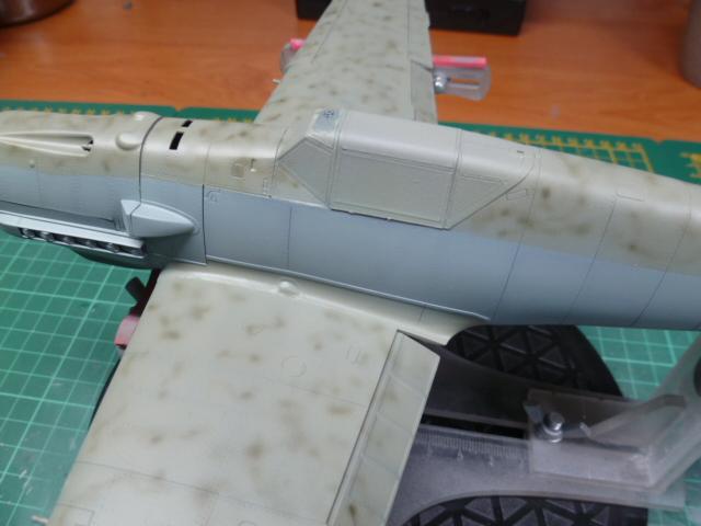BF 109 Eduard au 1/32ème P1070632