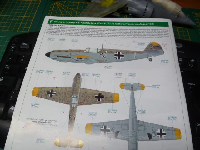 BF 109 Eduard au 1/32ème P1070638