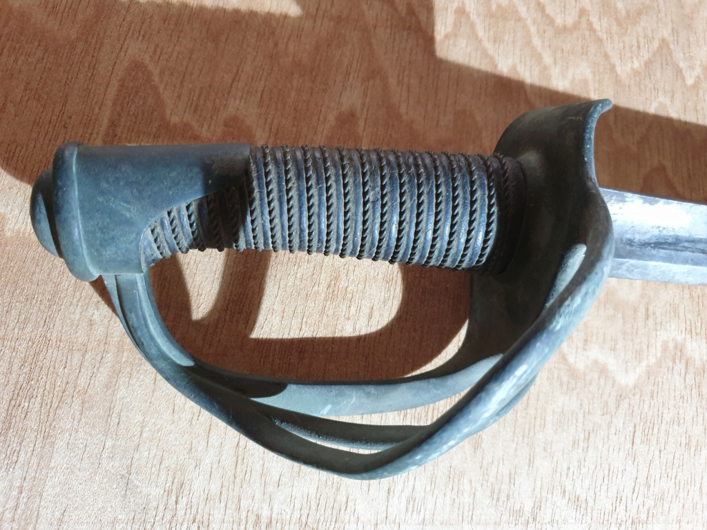 Identification sabre de cavalerie (à priori) 20200914
