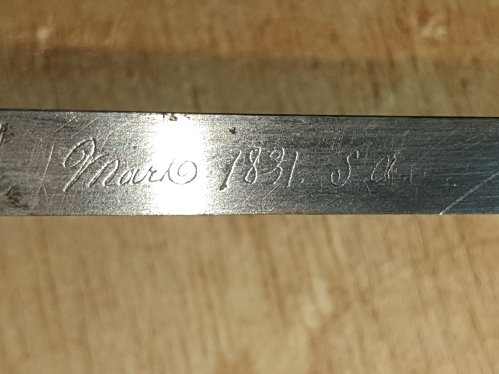 Identification sabre de cavalerie (à priori) 20200922