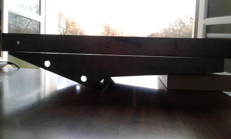 Rectifier une table de dégauchisseuse Profil10