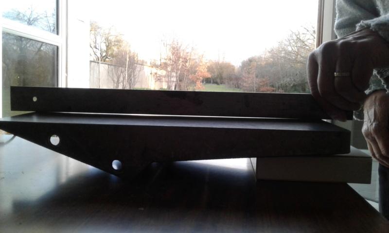 Rectifier une table de dégauchisseuse Profil12