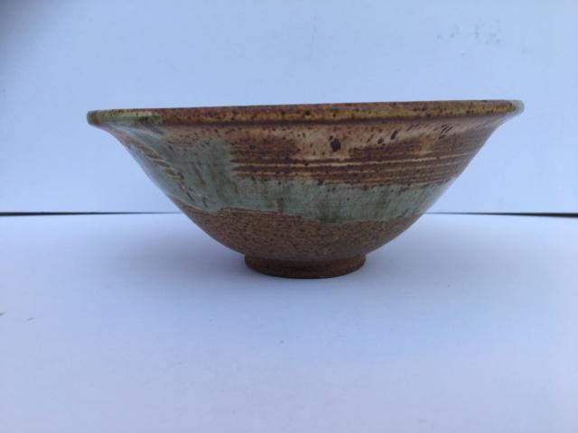 Nice glazed bowl, GW mark - possibly Gordon Whittle  Img_2022