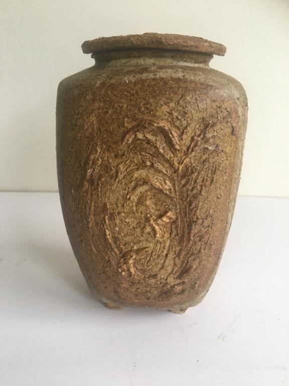 Lidded vase, JNP mark  Img_2121