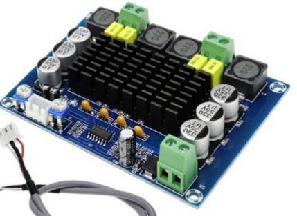 amplificatore classe d tpa3116d2 120+120 in protezione 10010010