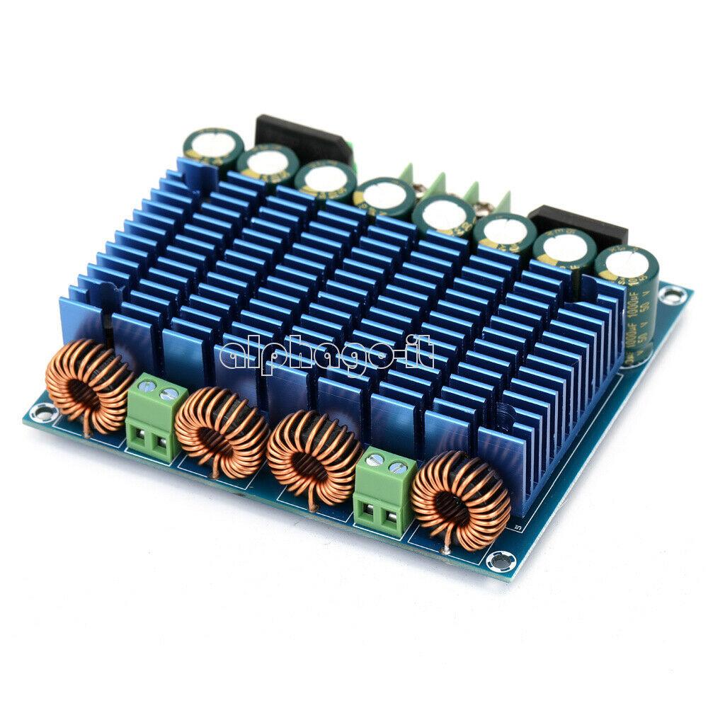 amplificatore classe d tpa3116d2 120+120 in protezione 42042012
