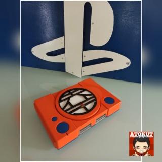 Playstation 1 custom DRAGON BALLZ ( logo KAIO ) Polish12