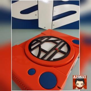 Playstation 1 custom DRAGON BALLZ ( logo KAIO ) Polish13