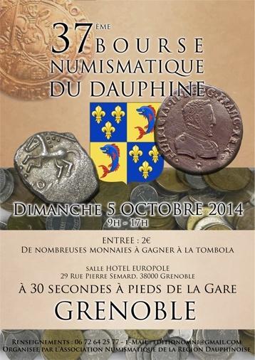 37ème bourse du Dauphiné (Grenoble, 2014) Affich10