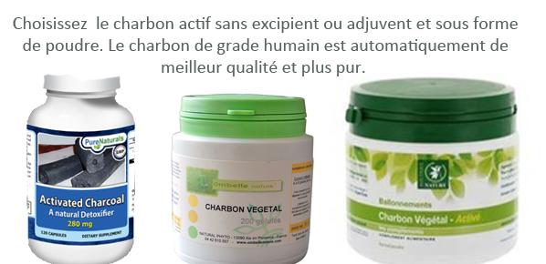 Le charbon activé Charbo12