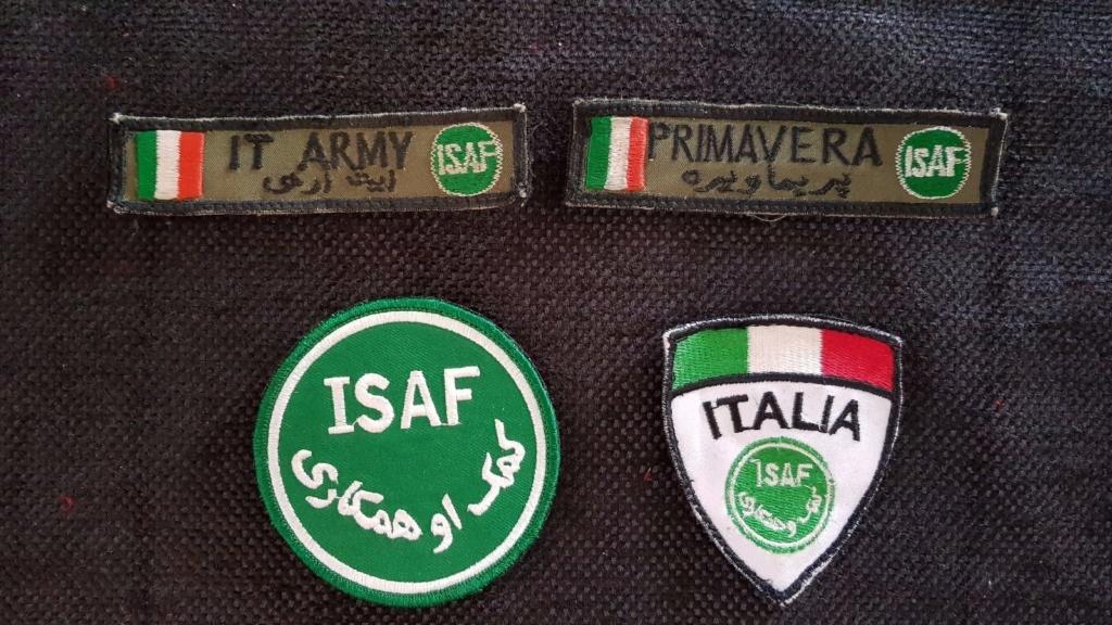 Objets de l'ISAF Lot_ba11