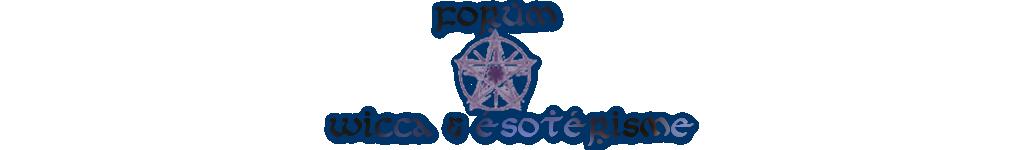 *Wicca et Esotérisme*