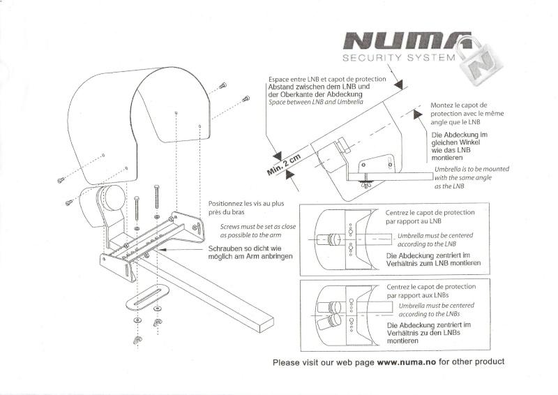 Protectii sau aparatori pentru LNB-uri  Sch11