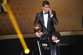 Cristiano Ronaldo est élu FIFA Ballon d'Or 2013 ! Images11