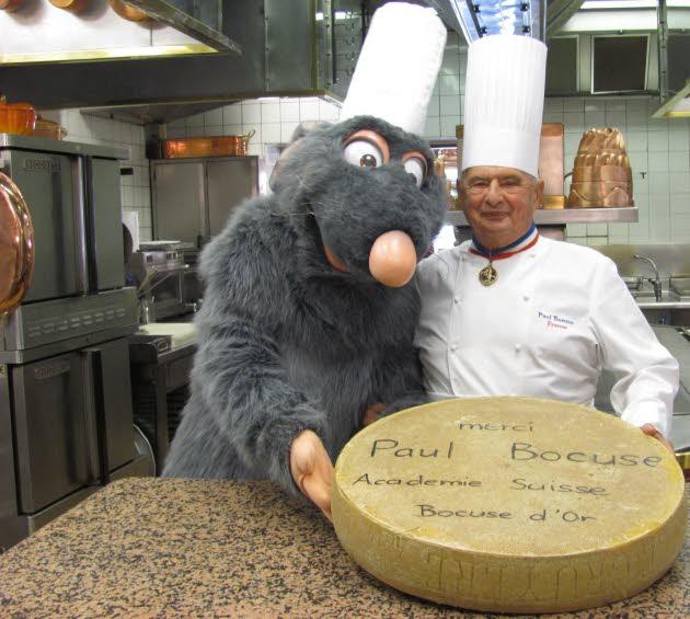 Rémy, le rat de Ratatouille, dans les cuisines de Paul Bocuse Title10