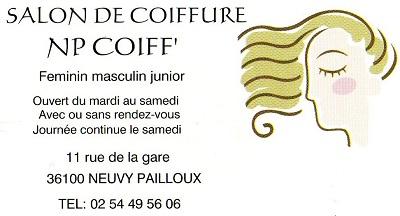 NEUVY-PAILLOUX 36100 - NP COIFF' - Salon de coiffure. Coiffeur hommes, femmes, enfants Neuvy_13
