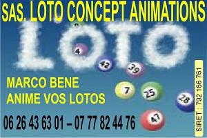 58 - SAS LOTO CONCEPT ANIMATIONS - Animateur de loto dans la Nièvre, l'Allier et le Loiret Neuvy_18