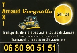 SAINTE LIZAIGNE - 36100 ISSOUDUN - TAXI  Arnaud VERGNOLLE Ste-li10