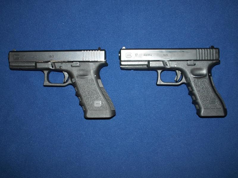 [Reportage photo] Glock 17 (RS vs MARUI) P1011710