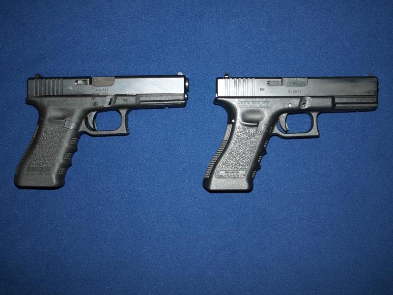 [Reportage photo] Glock 17 (RS vs MARUI) P1011711