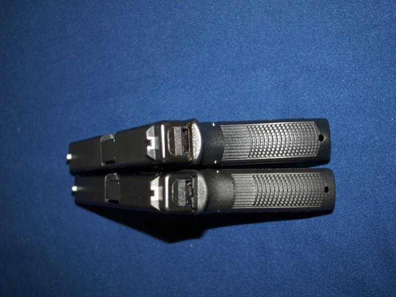 [Reportage photo] Glock 17 (RS vs MARUI) P1011712