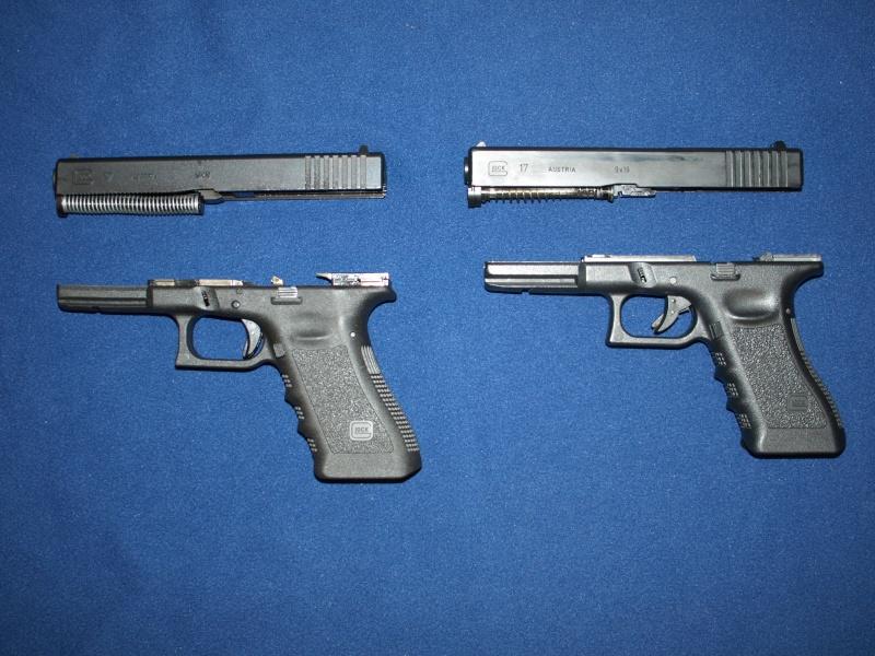 [Reportage photo] Glock 17 (RS vs MARUI) P1011714