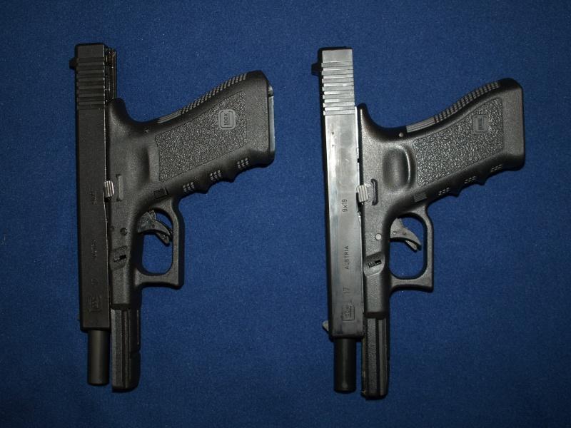 [Reportage photo] Glock 17 (RS vs MARUI) P1011716
