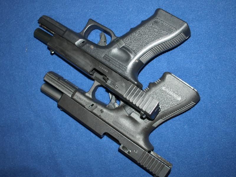[Reportage photo] Glock 17 (RS vs MARUI) P1011719