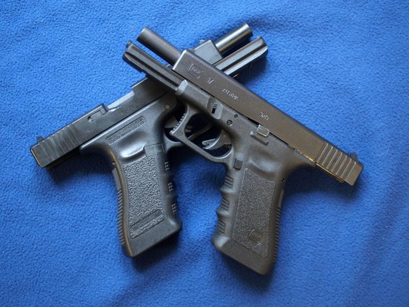 [Reportage photo] Glock 17 (RS vs MARUI) P1011720