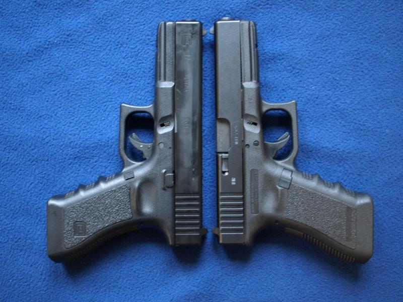 [Reportage photo] Glock 17 (RS vs MARUI) P1011722