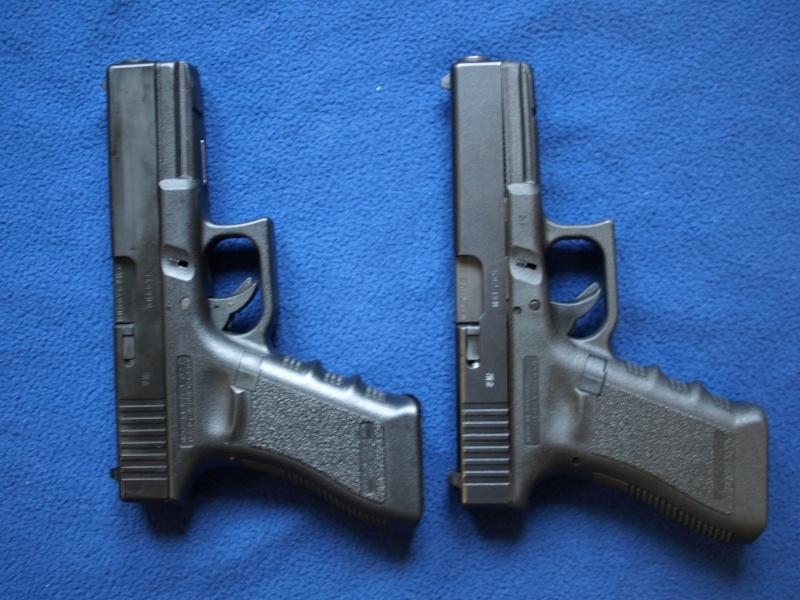 [Reportage photo] Glock 17 (RS vs MARUI) P1011723