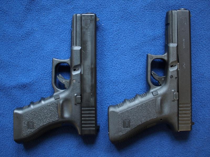 [Reportage photo] Glock 17 (RS vs MARUI) P1011724