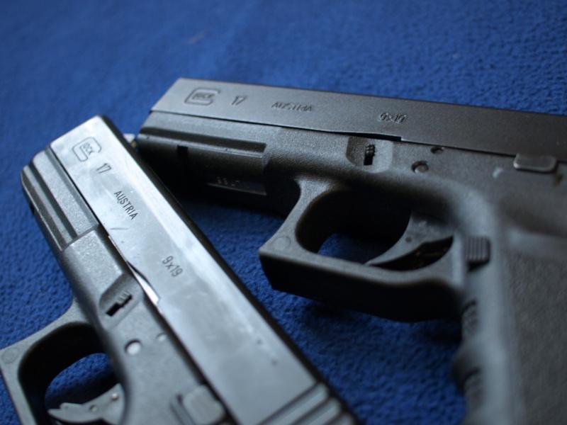 [Reportage photo] Glock 17 (RS vs MARUI) P1011725