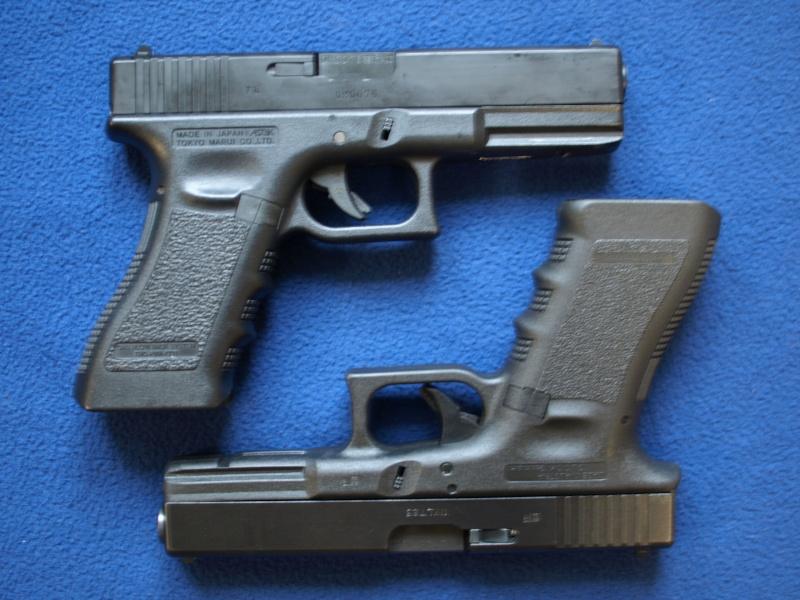 [Reportage photo] Glock 17 (RS vs MARUI) P1011726