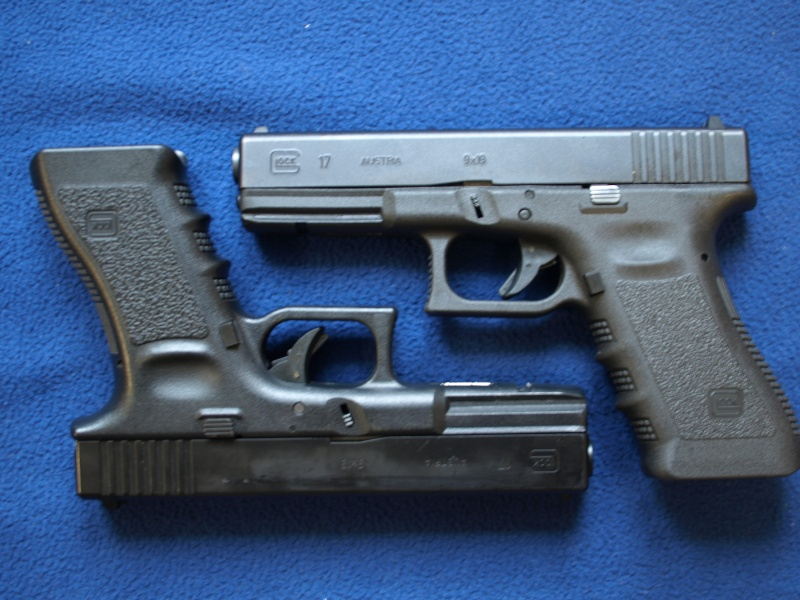 [Reportage photo] Glock 17 (RS vs MARUI) P1011727